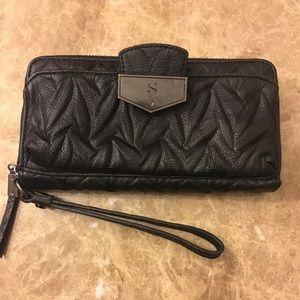Handbags - Black Multi-compartment Wallet Wristlet